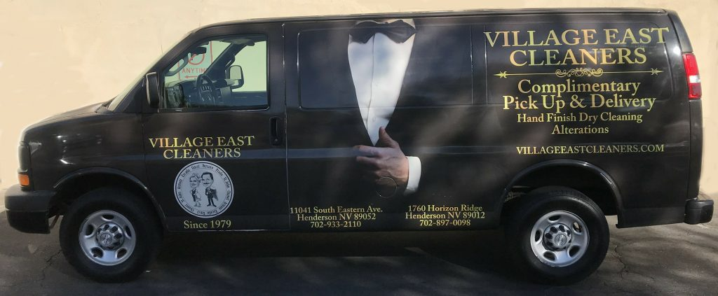 Free Pickup and Delivery from Village East Cleaners